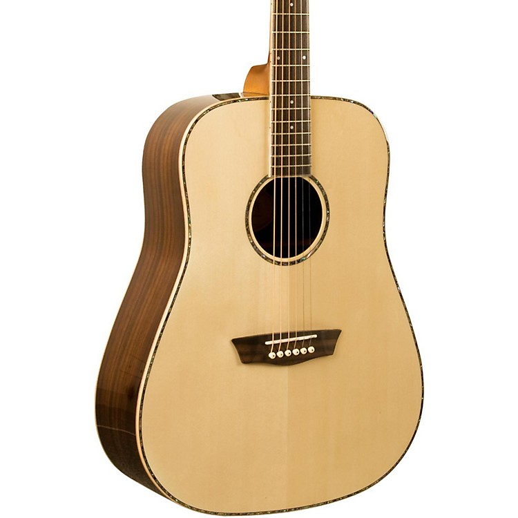 Washburn WD 25S Sitka Spruce Top Dreadnought Acoustic Guitar with Rosewood Back & Sides Natural