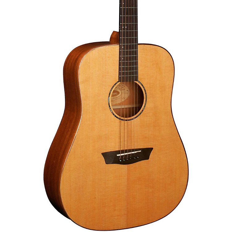 Washburn WD160SW All Solid Wood Dreadnought Acoustic Guitar Natural