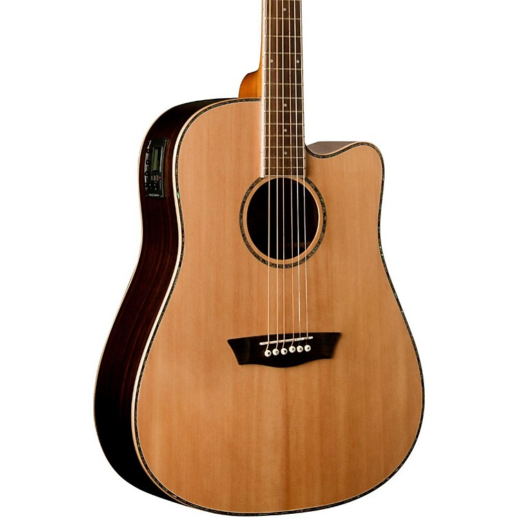 Washburn WD27SCE Dreadnought Acoustic-Electric Guitar ...
