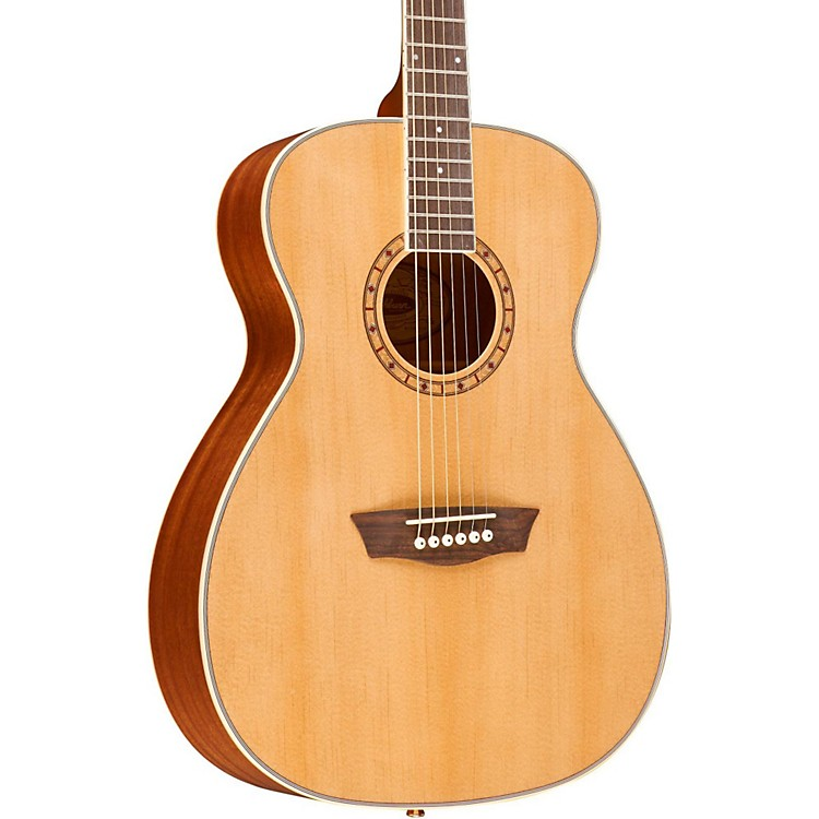 Washburn WF110DL Folk Acoustic Guitar Natural