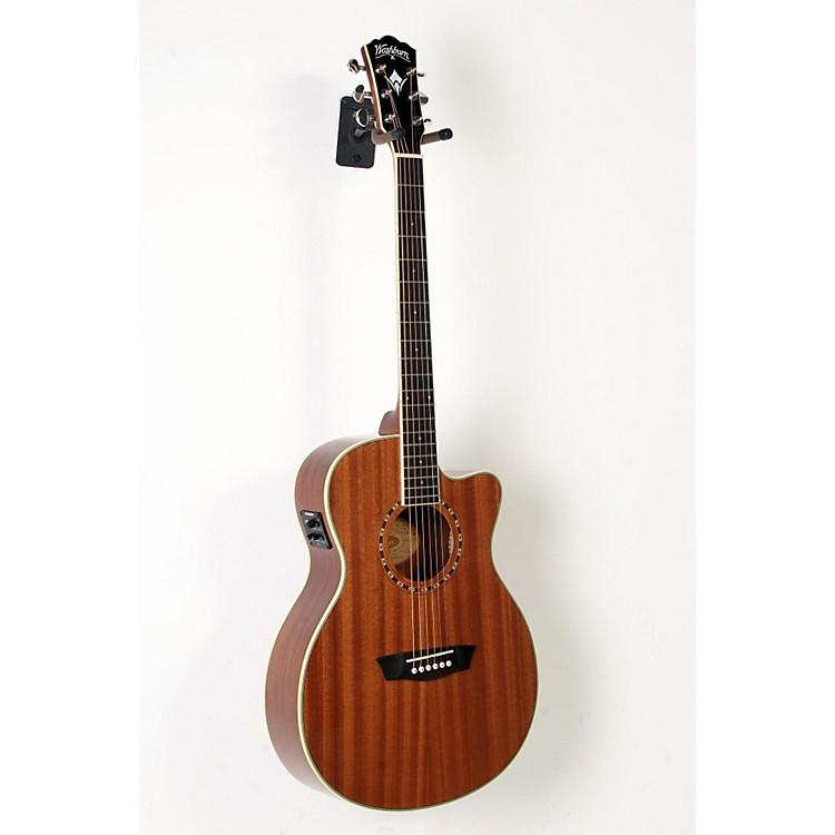WashburnWF19CE Mahogany Folk Acoustic-Electric GuitarNatural888365917917
