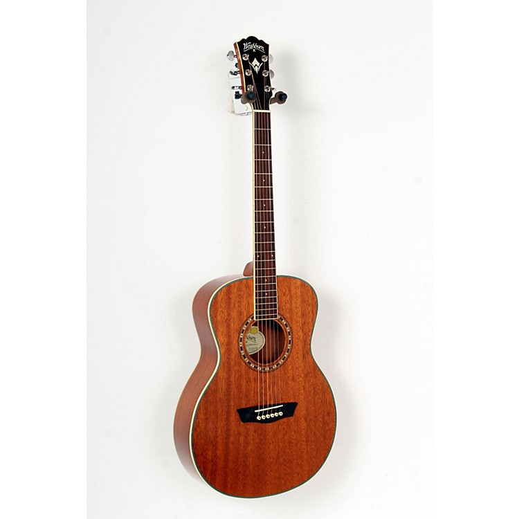 WashburnWF19S Mahogany Solid Top Folk Acoustic GuitarNatural888365720128