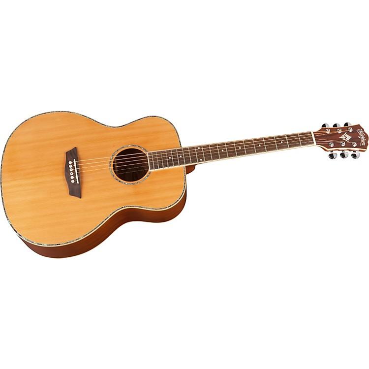 WashburnWG16S Solid Cedar Top Acoustic Grand Auditorium Mahogany Guitar