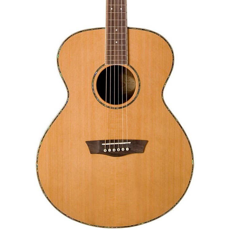 Washburn WG26S Solid Cedar Top Acoustic Grand Auditorium Rosewood Guitar Natural