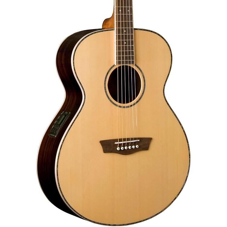 WashburnWG27SE Grand Auditorium Acoustic-Electric GuitarNatural