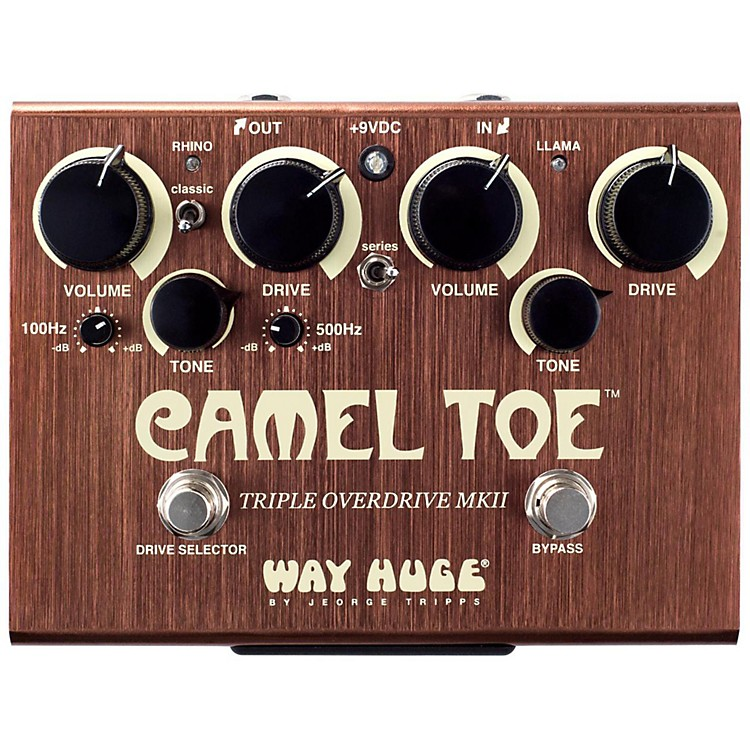 Way Huge ElectronicsWHE209 Camel Toe Triple Overdrive MKII