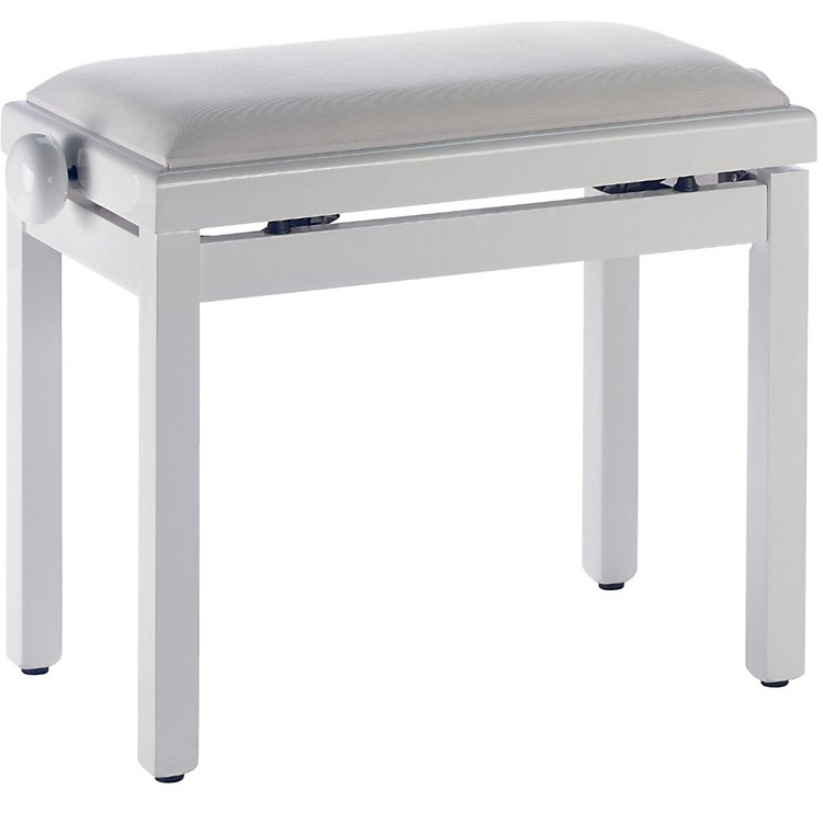 Stagg WHITE BENCH GLOSS+WHITE VELVET TOP