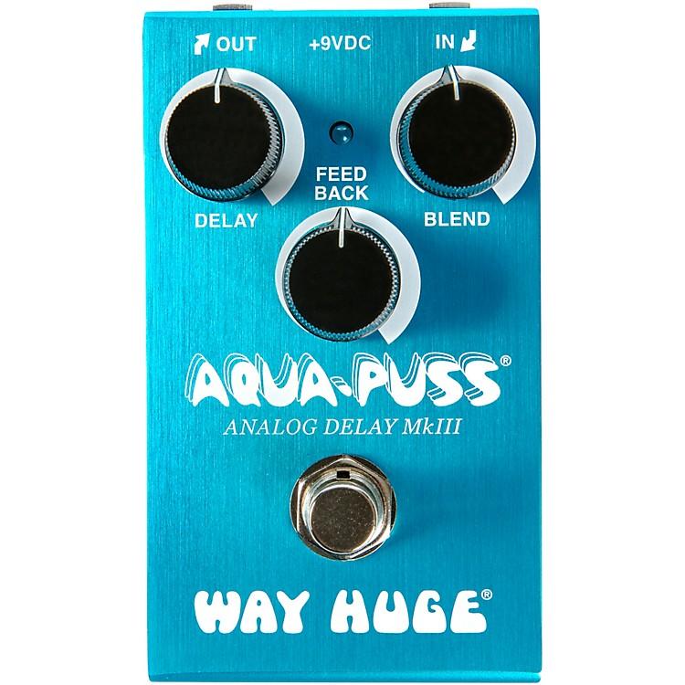 Way Huge ElectronicsWM71 Mini Aqua-Puss Analog Delay Effects Pedal