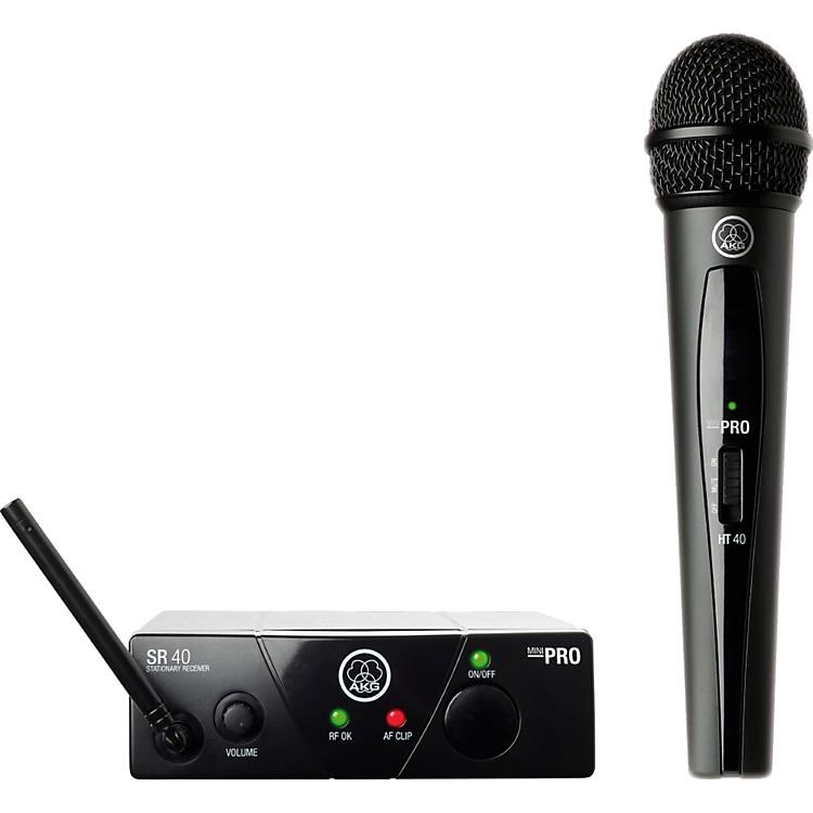 AKGWMS 40 Mini Vocal Wireless SystemBand B