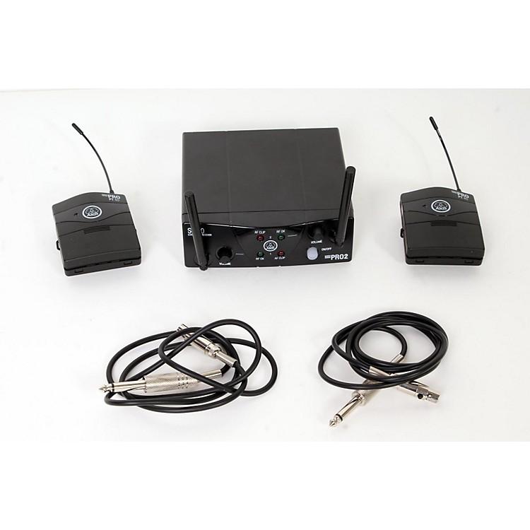 AKGWMS 40 Mini2 Instrument Wireless Microphone Set888365856858