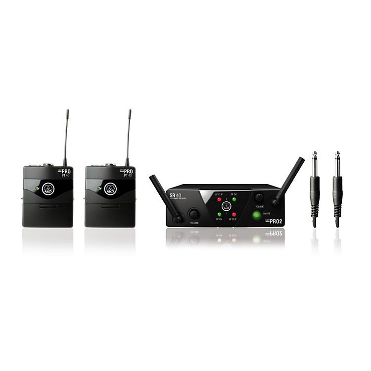 akg wms 40 mini2 instrument wireless microphone set music123. Black Bedroom Furniture Sets. Home Design Ideas