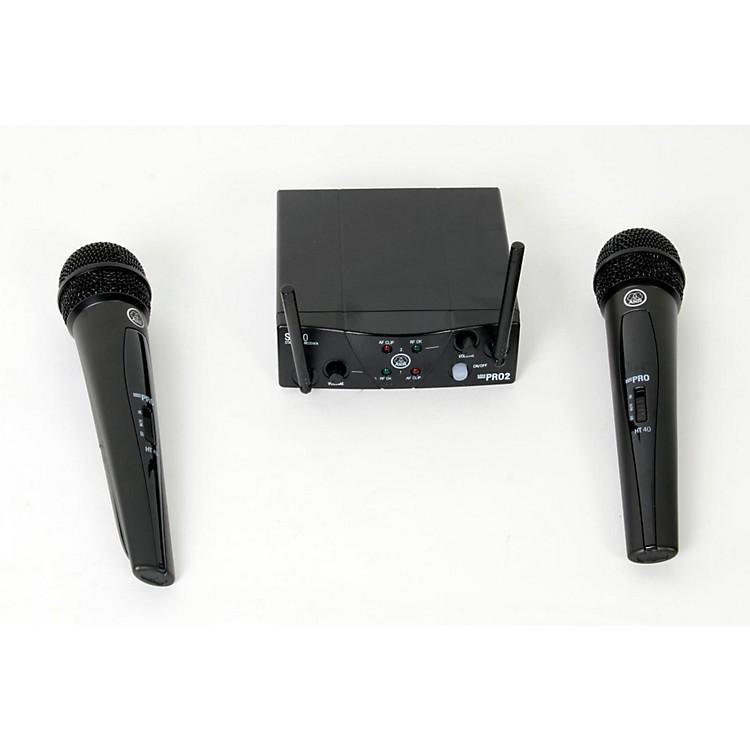 AKGWMS 40 Mini2 Vocal Wireless Microphone Set888365800776