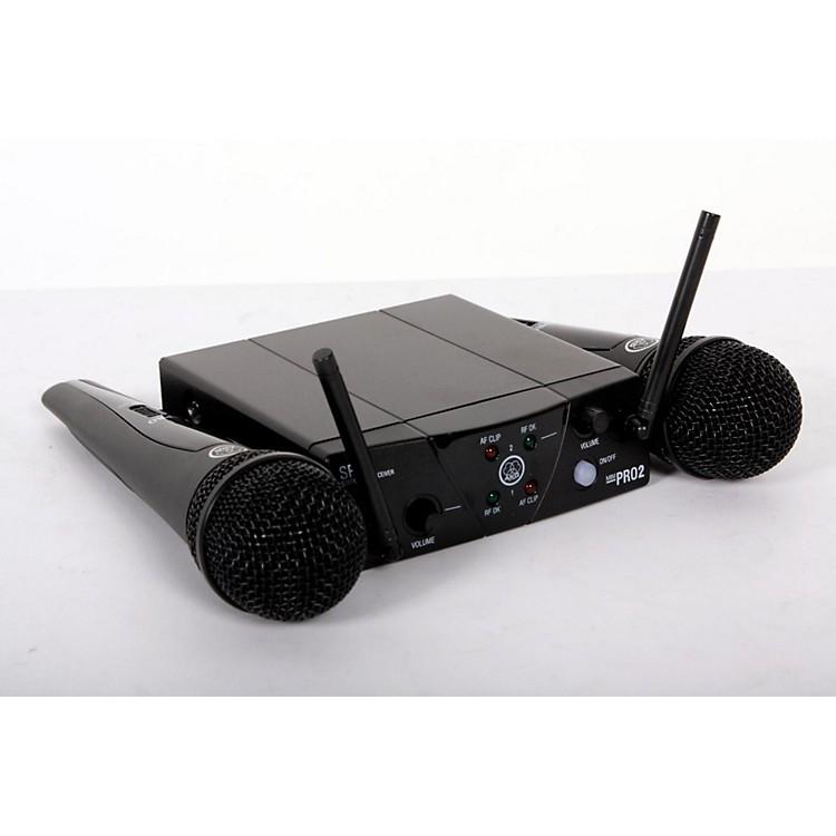 AKGWMS 40 Mini2 Vocal Wireless Microphone Set888365800790