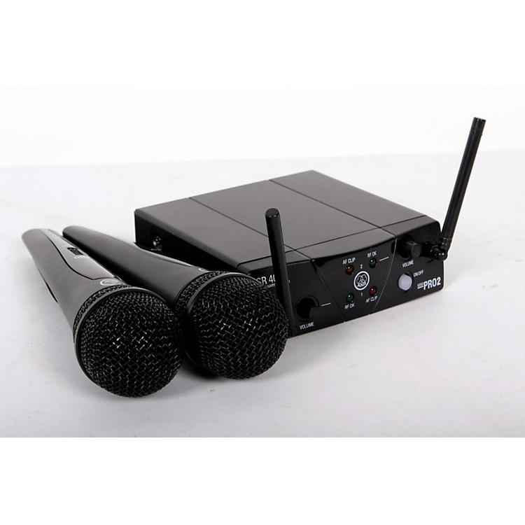 AKGWMS 40 Mini2 Vocal Wireless Microphone Set888365808635