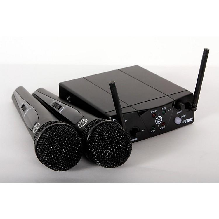 AKGWMS 40 Mini2 Vocal Wireless Microphone Set888365844282