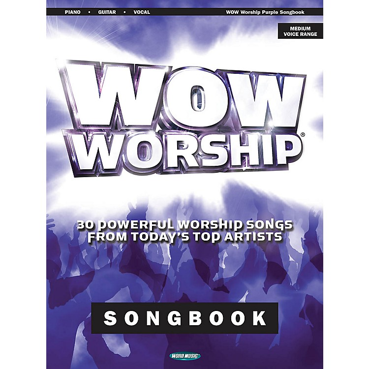 Word MusicWOW Worship - Purple Songbook Sacred Folio Series Softcover Performed by Various