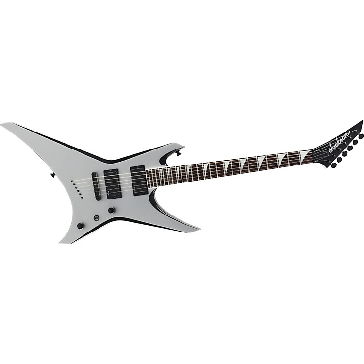 Jackson WRXTMG Warrior X Series Electric Guitar Quicksilver with Black Bevels