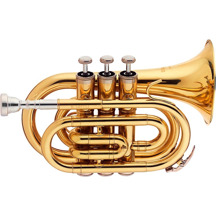 Stagg WS-TR245 Series Bb Pocket Trumpet Clear Lacquer