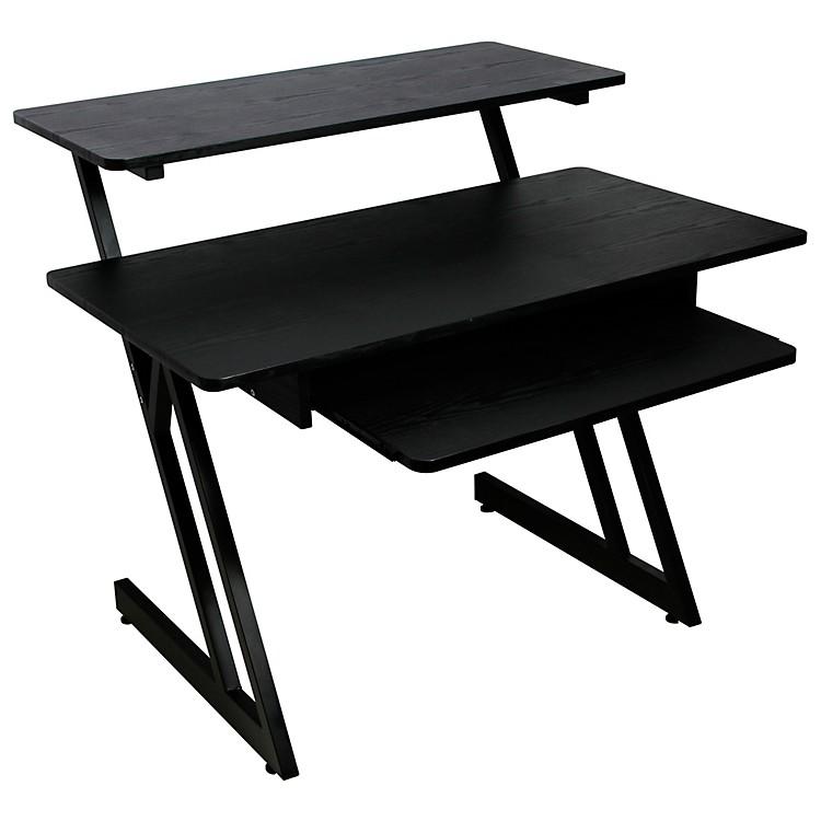 On-StageWS7500 Series Wood Workstation Black