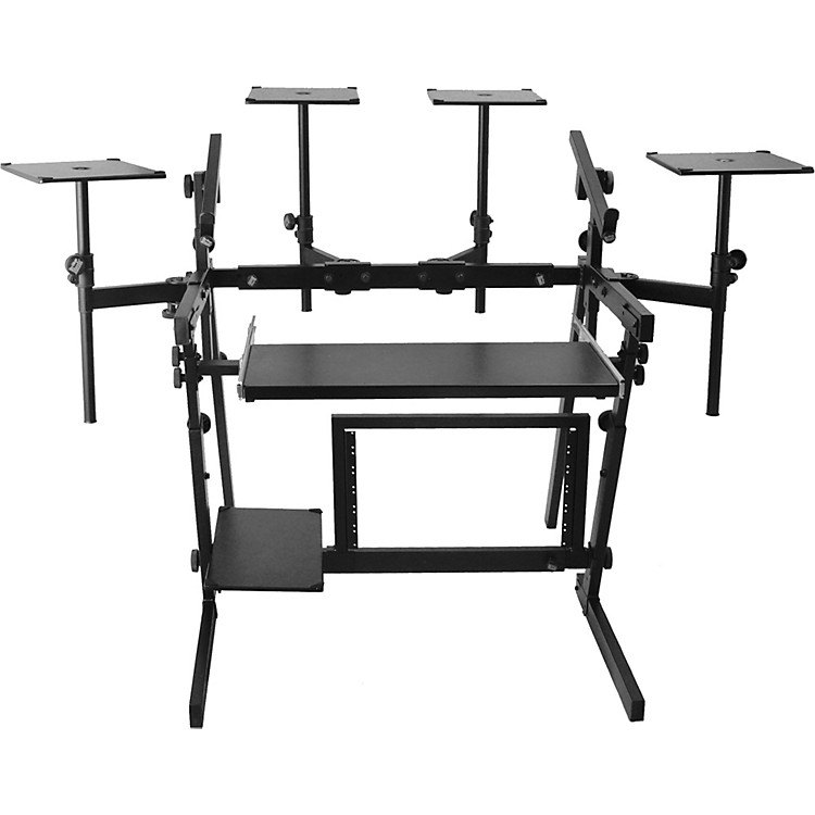 On-Stage StandsWS8700 Professional 2-Tier Metal Workstation