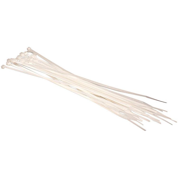 HosaWTi173 Cable Ties (20 Pack)White8 in.