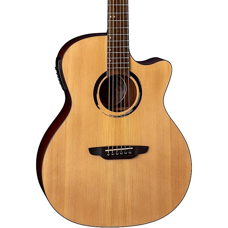 Luna GuitarsWabi Sabi Grand Concert Acoustic-Electric GuitarNatural
