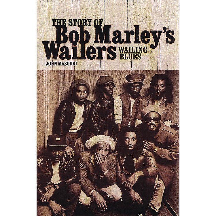 OmnibusWailing Blues - The Story of Bob Marley's Wailers Omnibus Press Series Softcover Written by John Masouri