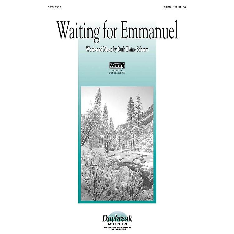 Daybreak MusicWaiting for Emmanuel SATB arranged by Ruth Elaine Schram