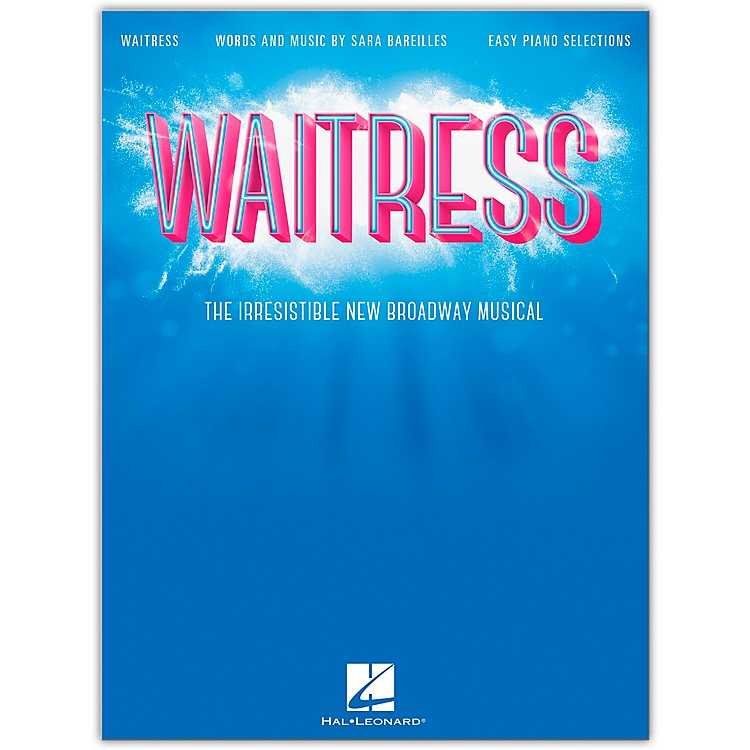 Hal Leonard Waitress - Easy Piano Selections - The Irresistible New Broadway Musical