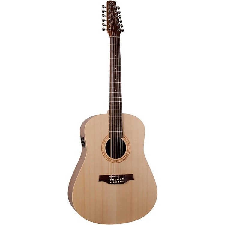 Seagull Walnut 12 SG 12-String Acoustic-Electric Guitar