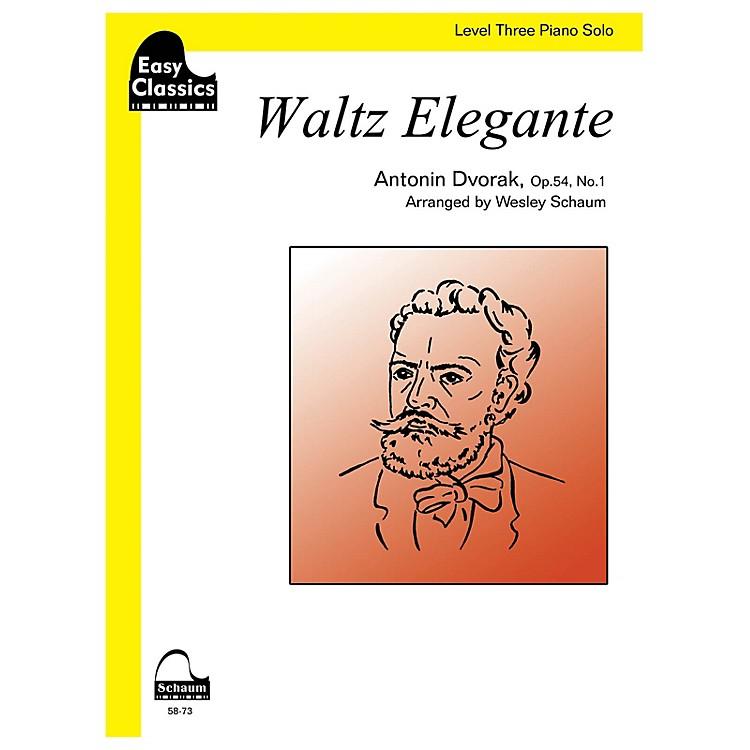 SCHAUMWaltz Elegante Educational Piano Series Softcover