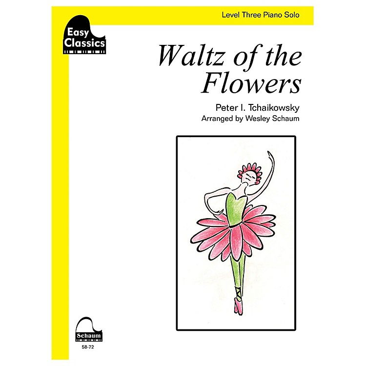 SCHAUM Waltz of the Flowers Educational Piano Series Softcover