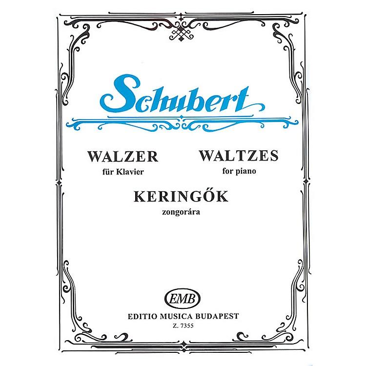 Editio Musica BudapestWaltzes-pno EMB Series by Franz Schubert