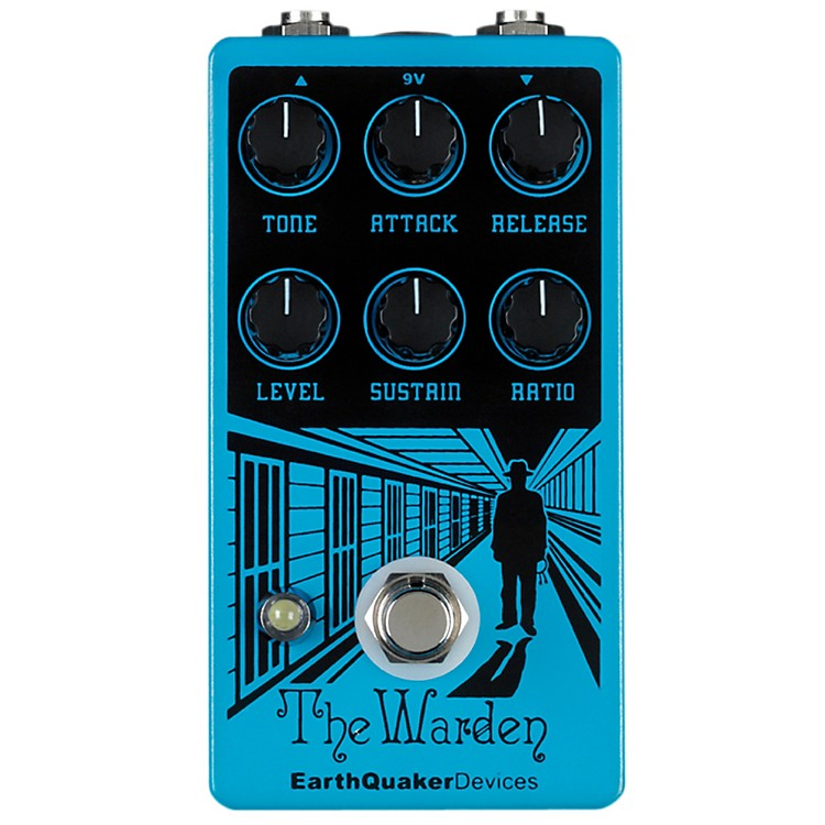 EarthQuaker Devices Warden Optical Compressor Guitar Effects Pedal