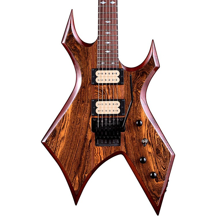 B.C. RichWarlock Neck Through with Floyd Rose and Dimarzios Electric GuitarGloss Natural