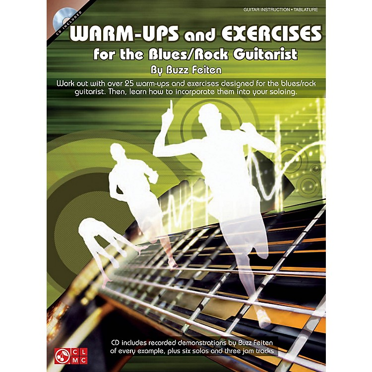 Cherry LaneWarm-Ups and Exercises for the Blues/Rock Guitarist Guitar Educational Softcover with CD by Buzz Feiten
