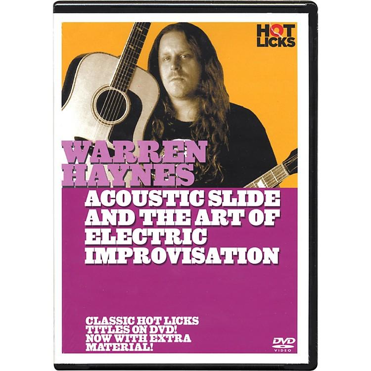 Hot LicksWarren Haynes Electric Slide and the Art Of Improvisation DVD