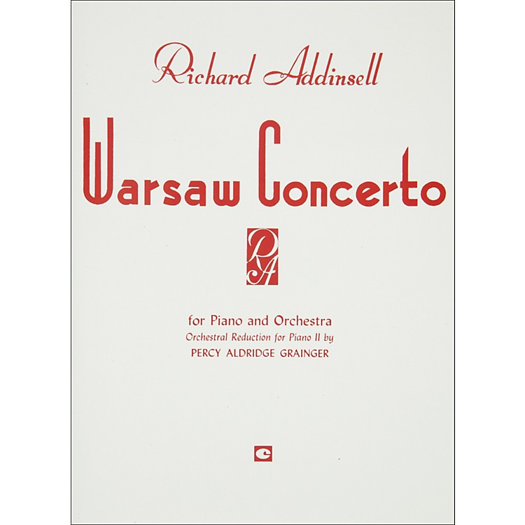 Hal LeonardWarsaw Concerto Piano Orchestra Duet Two Pianos Four Hands
