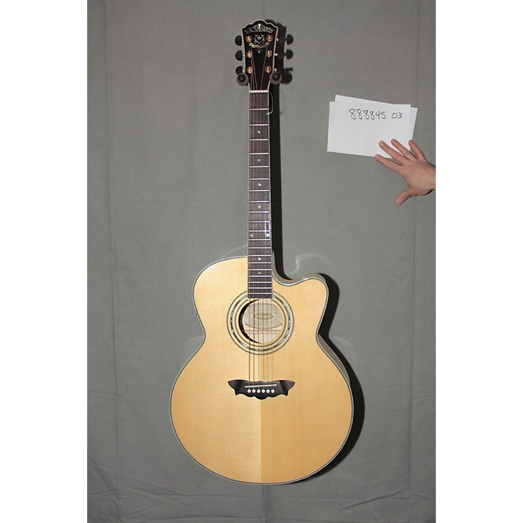used washburn j28scedl jumbo cutaway acoustic electric guitar in natural finish music123. Black Bedroom Furniture Sets. Home Design Ideas