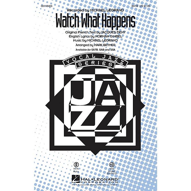 Hal LeonardWatch What Happens SSA Arranged by Mark Brymer
