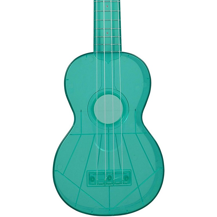 Kala Waterman Soprano Ukulele Fluorescent Green
