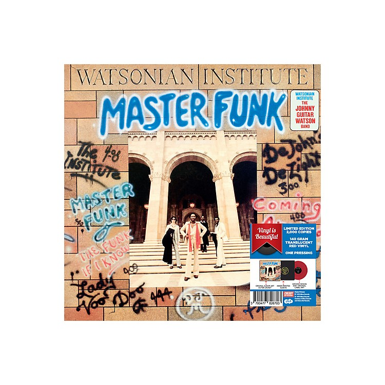AllianceWatsonian Institute - Master Funk - Red Vinyl 2017 Limited Edition