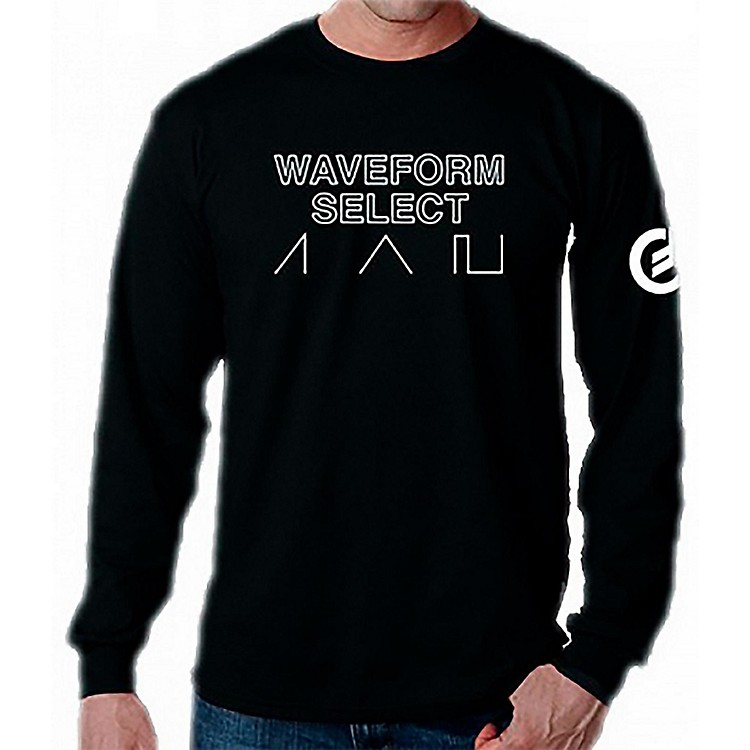 Moog Waveform Long Sleeve T-Shirt Medium
