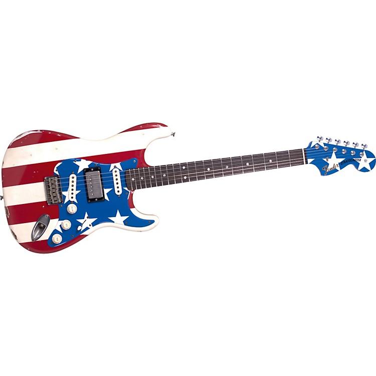 FenderWayne Kramer Signature Flag Stratocaster Electric Guitar