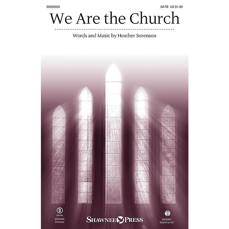Shawnee PressWe Are the Church Studiotrax CD Composed by Heather Sorenson