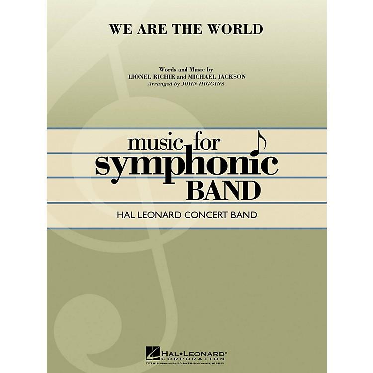 Hal LeonardWe Are the World Concert Band Level 4 Arranged by John Higgins