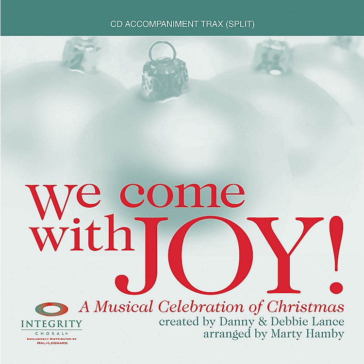 Hal Leonard We Come with Joy (A Musical Celebration of Christmas) SPLIT TRAX Arranged by Marty Hamby