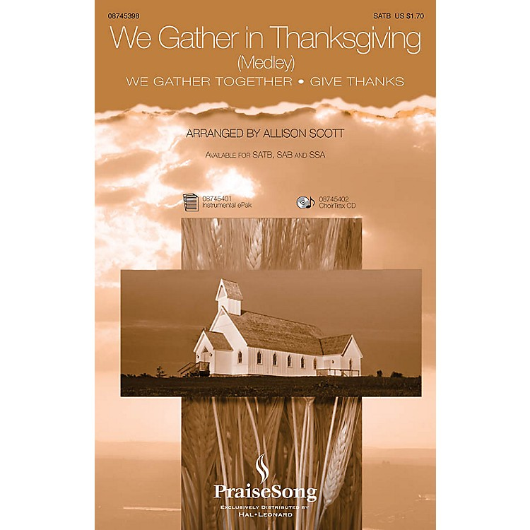 PraiseSong We Gather in Thanksgiving IPAKCO Arranged by Allison Scott