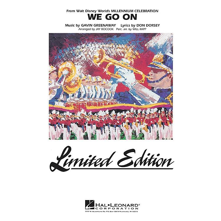 Hal LeonardWe Go On (from Disney's Millenium Celebration) Marching Band Level 5 Arranged by Jay Bocook