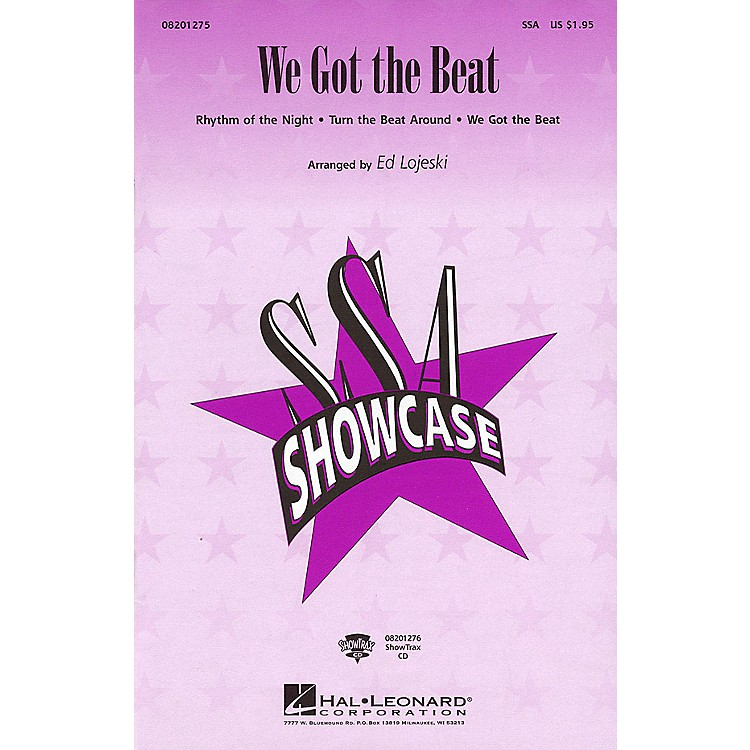 Hal Leonard We Got the Beat (Medley) SSA arranged by Ed Lojeski